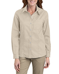 Ladies' Long-Sleeve Stretch Oxford Shirt