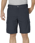 "Unisex Tactical 10"""" Relaxed Fit Stretch Ripstop Cargo Short"