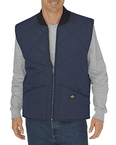 Unisex Diamond Quilted Nylon Vest