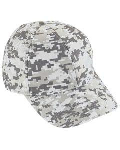 Youth Digi Camo Cotton Twill Cap | WHITE DIGI
