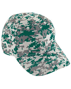 Youth Digi Camo Cotton Twill Cap | DK GREEN DIGI