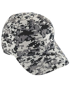 Youth Digi Camo Cotton Twill Cap | BLACK DIGI