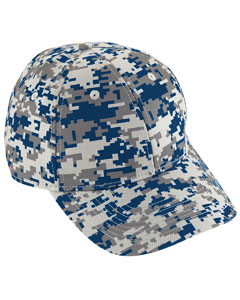 Youth Digi Camo Cotton Twill Cap | NAVY DIGI