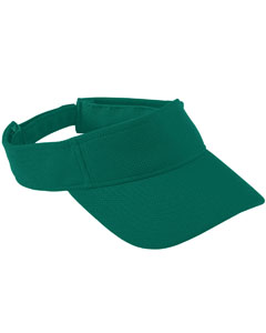 Youth Adjustable Wckng Msh Visor | DARK GREEN