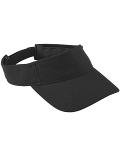 Youth Adjustable Wckng Msh Visor | BLACK