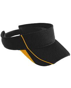 Youth Force Visor | BLACK/ GOLD