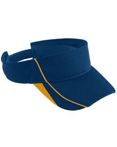 Youth Force Visor | NAVY/ GOLD