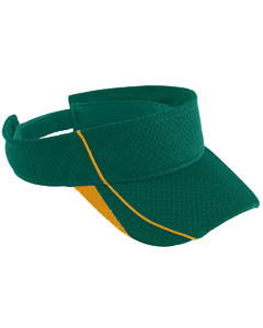 Youth Force Visor | DARK GREEN/ GOLD