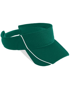 Youth Force Visor | DARK GREEN/ WHT