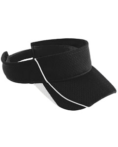 Youth Force Visor | BLACK/ WHITE