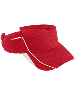 Youth Force Visor | RED/ WHITE