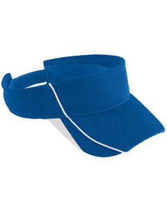 Youth Force Visor | ROYAL/ WHITE