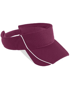 Youth Force Visor | MAROON/ WHITE
