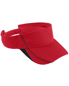 Youth Force Visor | RED/ BLACK
