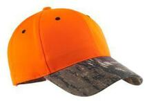 Port Authority Safety Cap with Camo Brim