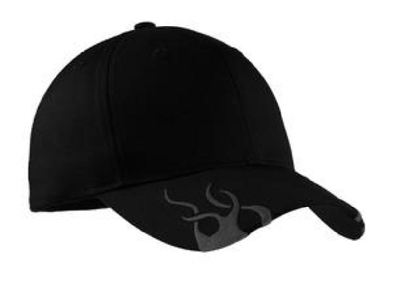 Port Authority Racing Cap with Flames