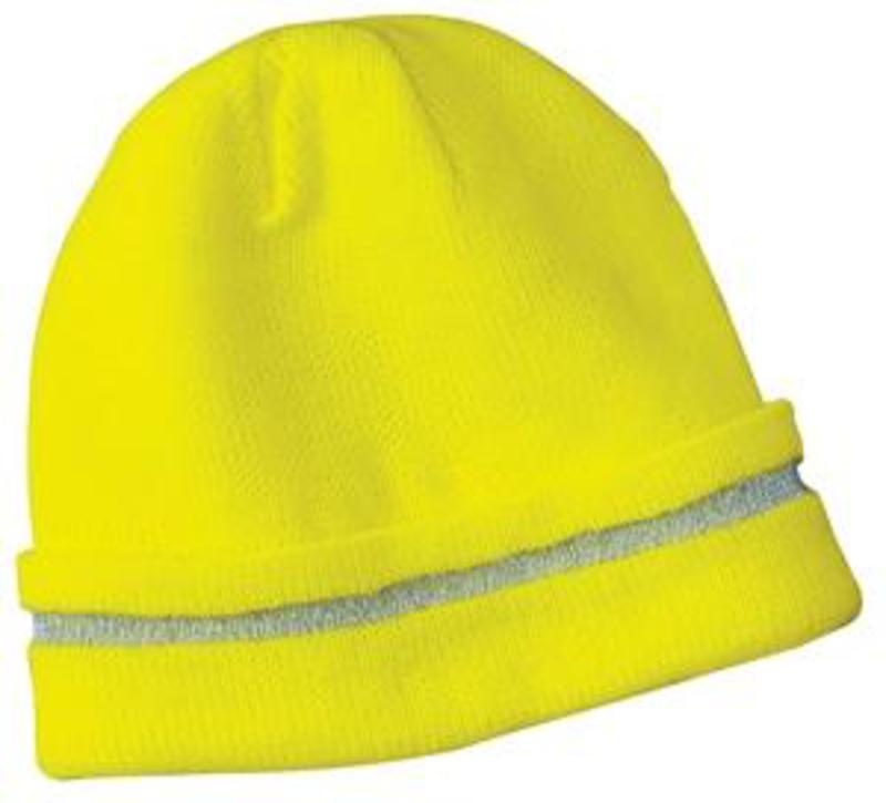 CornerStone - Enhanced Visibility Beanie with Reflective Stripe