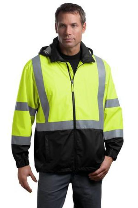 CornerStone - ANSI 107 Class 3 Safety Windbreaker