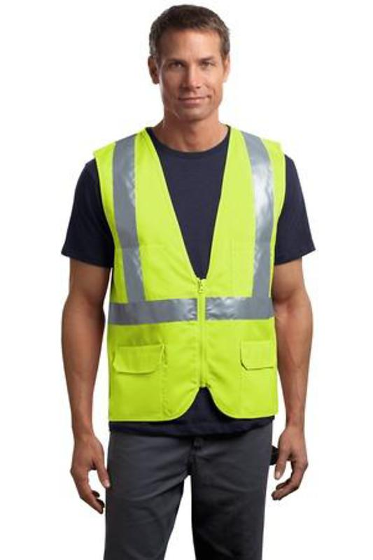 CornerStone - ANSI 107 Class 2 Mesh Back Safety Vest