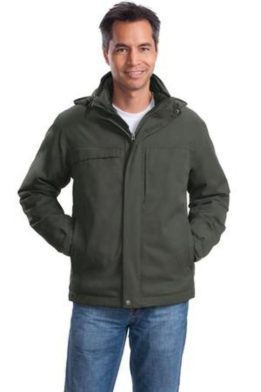 Port Authority Herringbone 3-in-1 Parka