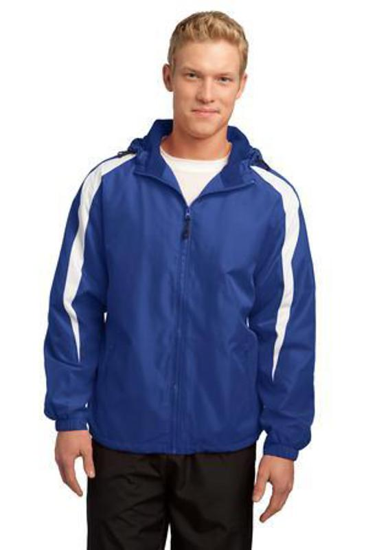 Sport-Tek Fleece-Lined Colorblock Jacket