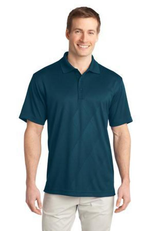Port Authority Tech Embossed Polo