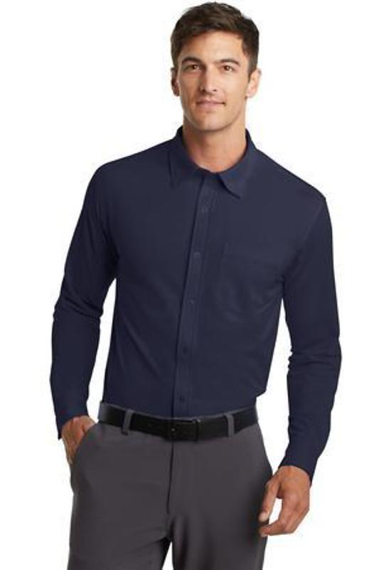 Port Authority Dimension Knit Dress Shirt