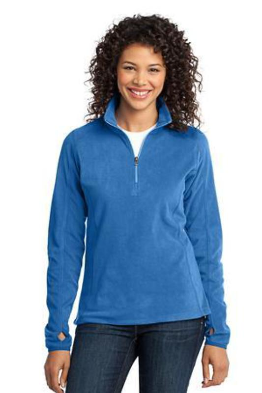 Port Authority Ladies Microfleece 1/2-Zip Pullover
