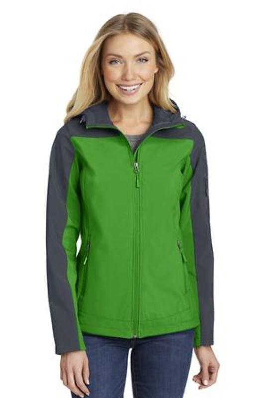 Port Authority Ladies Hooded Core Soft Shell Jacket