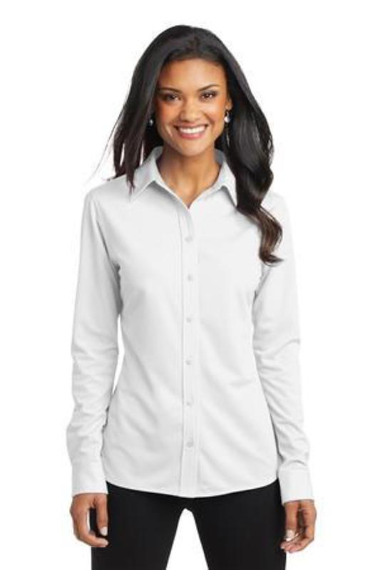 Port Authority Ladies Dimension Knit Dress Shirt