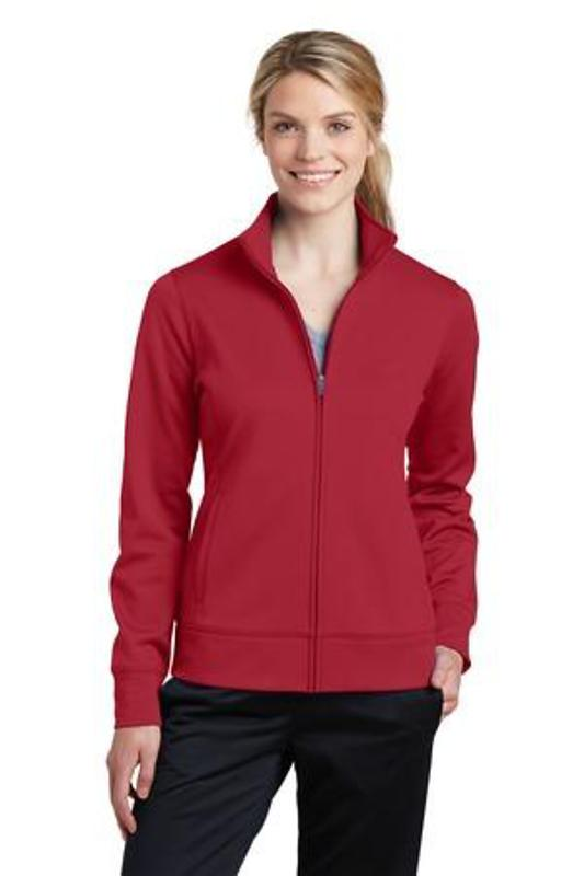 Sport-Tek Ladies Sport-Wick Fleece Full-Zip Jacket