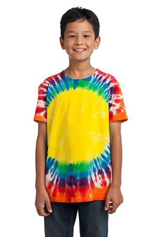 Port & Company - Youth Essential Window Tie-Dye Tee