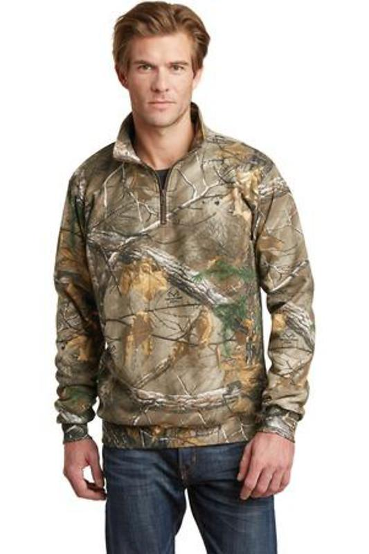 Russell Outdoors Realtree 1/4-Zip Sweatshirt