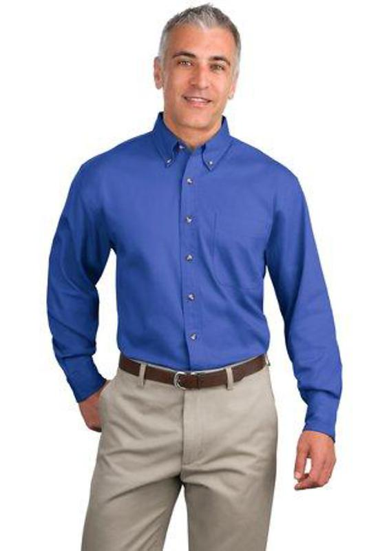Port Authority Long Sleeve Twill Shirt