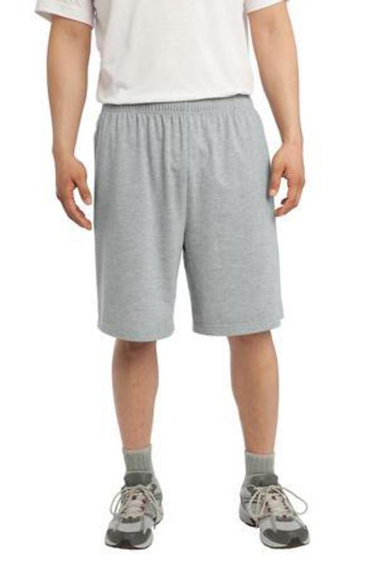 Sport-Tek Jersey Knit Short with Pockets