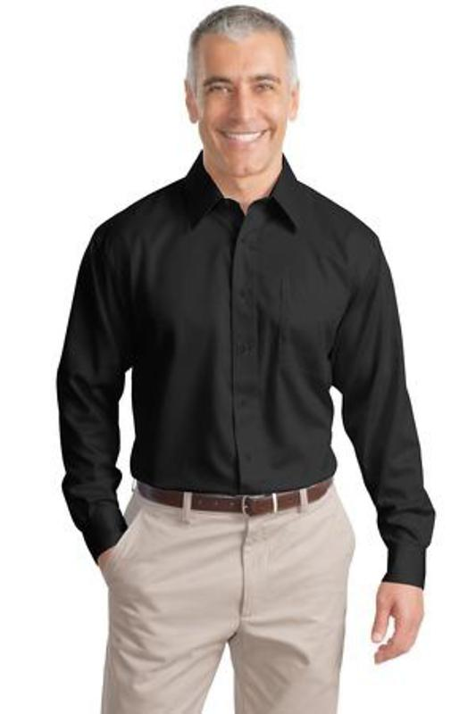 Port Authority Tall Long Sleeve Non-Iron Twill Shirt
