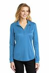 Port Authority  Ladies Silk Touch   Performance Long Sleeve Polo