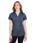 Ladies' Icon Heather Polo