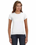 Ladies' 1x1 Baby Rib Scoop T-Shirt