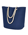 Polyester Canvas Rope Tote