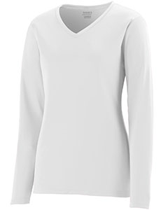 Girls Wicking Polyester Long-Sleeve Jersey