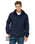 Fast Fashion Hooded Coaches Jacket