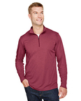 Men's Zone Sonic Heather Performance Quarter-Zip