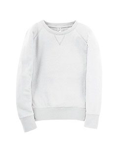 Girls' Lightweight French Terry Slouchy Pullover