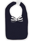 Infant Baby Rib Bow Tie Bib