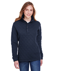 Ladies' Ladies Quilted Snap Pullover