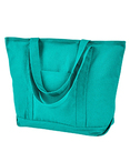 Seaside Cotton Pigment-Dyed XL Canvas Boat Tote