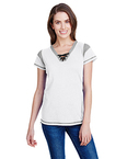 Ladies' Gameday Lace Up T-Shirt