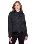 Ladies' Pioneer Hybrid Bomber Jacket