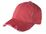 District - Distressed Cap | Dashing Red